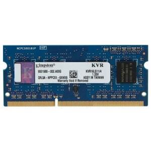 Memorie laptop Kingston KVR16LS11/4, 4GB DDR3L, 1600Mhz, CL11