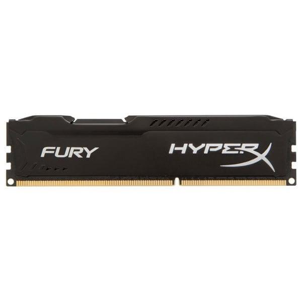 Memorie desktop KINGSTON HyperX Fury, 2x4GB DDR3, 1600MHz, CL10, HX316C10FBK2/8