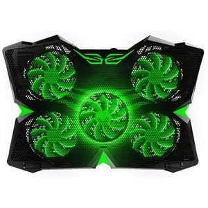 "Cooler laptop gaming MYRIA X11, iluminare, 17"", negru"