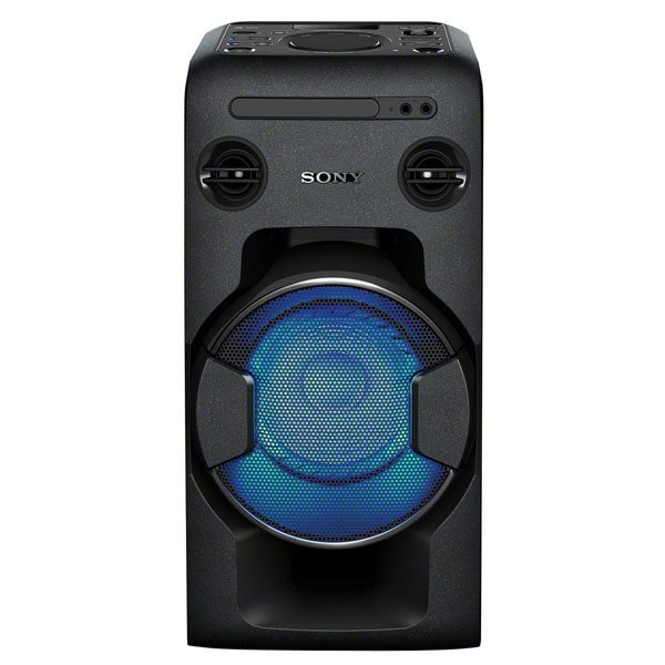 Sistem audio High Power SONY MHC-V11, Bluetooth, NFC, USB, CD, Radio FM, Party Music, iluminare LED, negru
