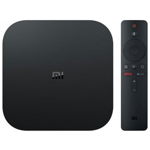 Media Player Xiaomi Mi Box S, 4K HDR, Wi-Fi, negru