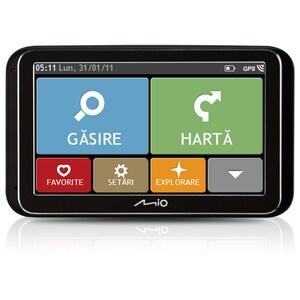 "Sistem de navigatie GPS MIO Spirit 6950, 5"", Touch, Europa, negru"