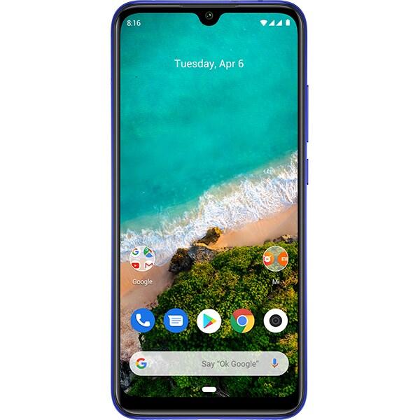 Telefon XIAOMI Mi A3, 64GB, 4GB RAM, Dual SIM, Not just Blue