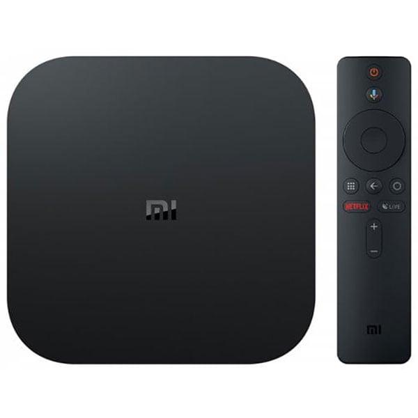 Media Player Xiaomi Mi Box S, 4K HDR, Wi-Fi, negru