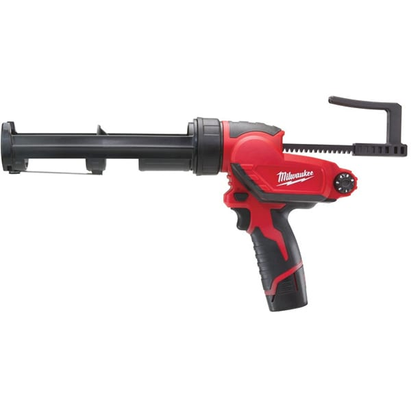 Pistol silicon cu acumulator MILWAUKEE M12 PCG/310C-201B, 310ml, 1780N, 2.0Ah