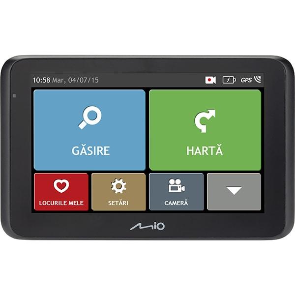 "Sistem de navigatie GPS cu Camera Auto DVR MIO Drive 50, 5"" Touch, Full Europa"