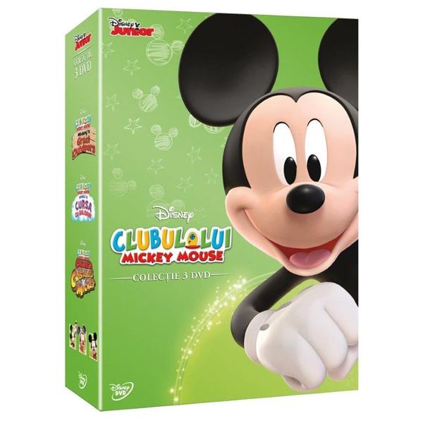 Pachet Clubul lui Mickey Mouse: Mickey DVD - Colectie de 3 discuri