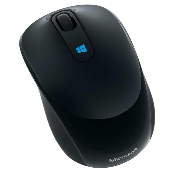 Mouse Wireless MICROSOFT Sculpt Mobile, 1000 dpi, negru