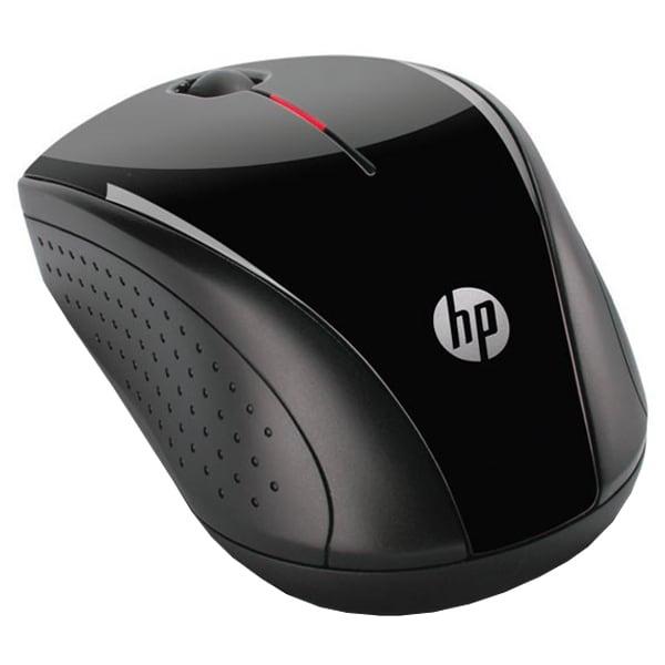 Mouse Wireless HP X3000, 1200 dpi, negru