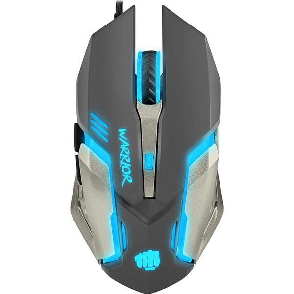 Mouse Gaming FURY Warrior, 3200 dpi, negru-argintiu