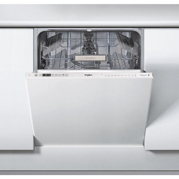 Masina de spalat vase incorporabila WHIRLPOOL WIO 3T321 P, PowerClean Pro, 14 seturi, 10 programe, 60 cm, clasa A++
