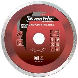 Disc diamantat MTX 731879, debitare continua, 180 x 22.2 mm, taiere umeda