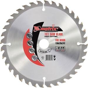 Disc fierastrau MTX Professional 732789, pentru lemn, 18.5 x 2 cm, 36 dinti