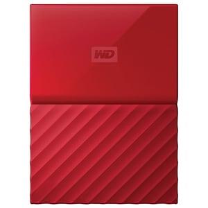 Hard Disk Drive WD My Passport WDBYNN0010BRD, 1TB, USB 3.0, rosu