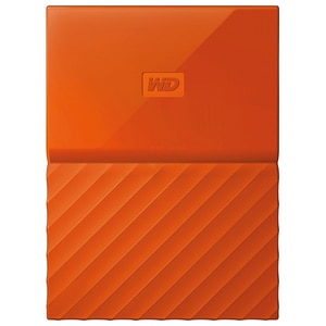 Hard Disk Drive WD My Passport WDBYFT0030BOR, 3TB, USB 3.0, portocaliu