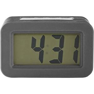 Ceas desteptator digital de birou NEDIS CLDK003GY fundal iluminat LCD, gri