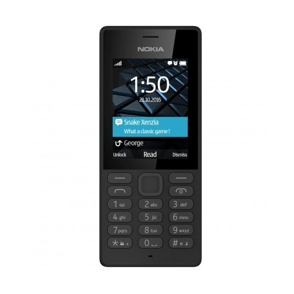 Telefon mobil NOKIA 150, 2G, Dual SIM, Black