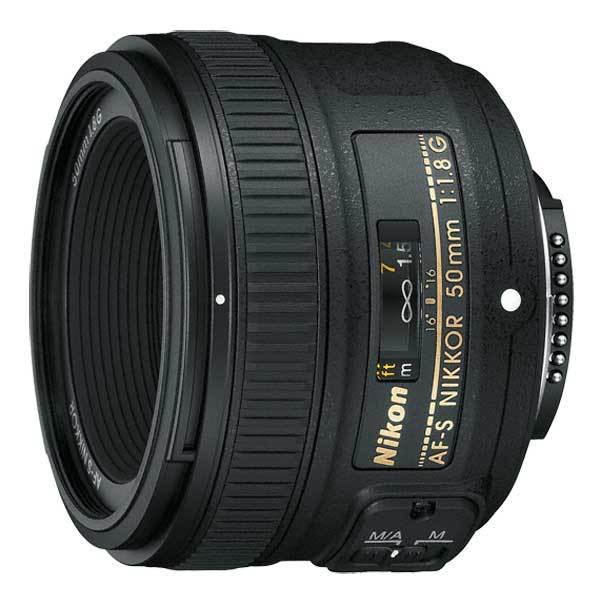 Obiectiv foto NIKON Nikkor AF-S 50mm f/1.8