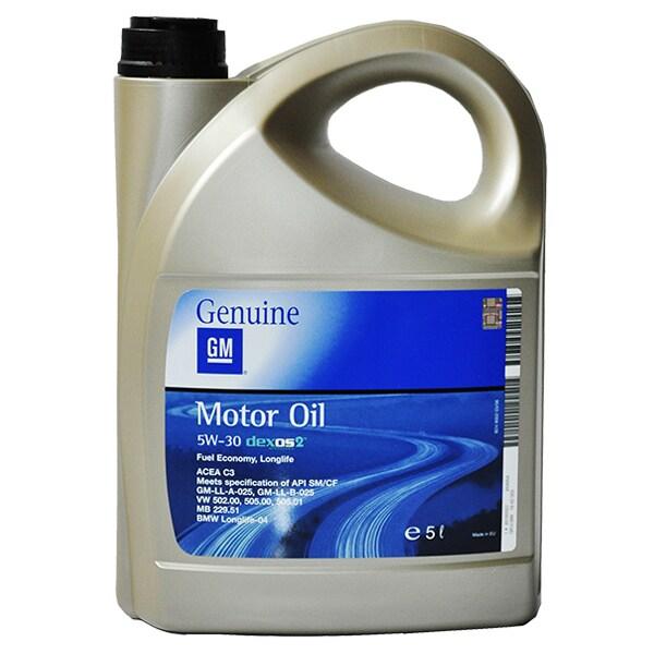 Ulei motor GM Long Life (Eco) OP1942003, 5W30, 5l