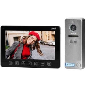 Interfon video cu fir ORNO OR-VID-EX-1057/B,LCD, 7 inch, negru-gri