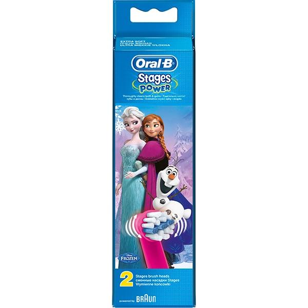 Rezerve periuta de dinti electrica ORAL-B D12 Frozen, 2buc