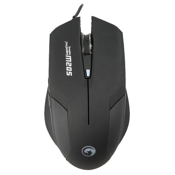 Mouse Gaming MARVO M205, 1600 dpi, negru