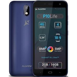 Telefon ALLVIEW P10 Life, 16GB, 2GB RAM, Dual SIM, Blue Gray