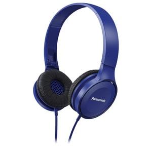 Casti PANASONIC RP-HF100E-A, Cu Fir, On-Ear, albastru