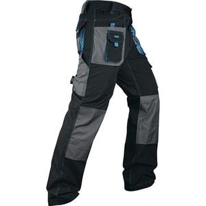 Pantaloni de protectie GROSS, marime L, albastru-negru