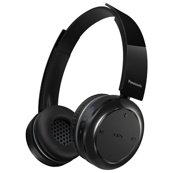 Casti PANASONIC RP-BTD5E-K, Bluetooth, NFC, On-Ear, Microfon, negru