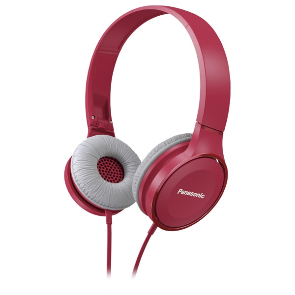 Casti PANASONIC RP-HF100E-P, Cu Fir, On-Ear, roz