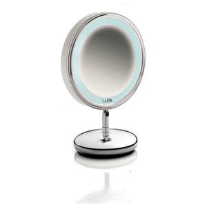 Oglinda cosmetica cu picior  LAICA PC5004, iluminare LED