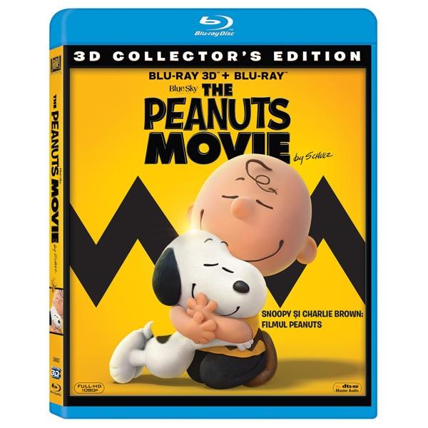 Snoopy si Charlie Brown: Filmul Peanuts Blu-ray 3D