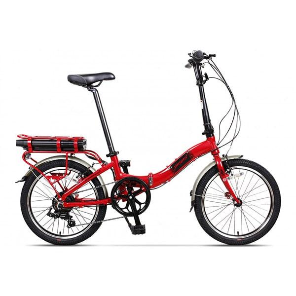 Bicicleta PEGAS Camping Dinamic E-Bike, Pliabila, rosu