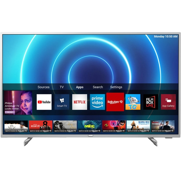 Televizor LED Smart PHILIPS 58PUS7555, Ultra HD 4K, HDR10+, 146cm