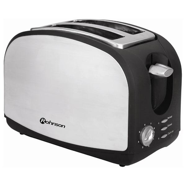Prajitor de paine ROHNSON R207, 900W, Negru - Argintiu