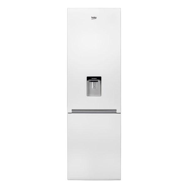 Combina frigorifica BEKO RCSA400K20DW, 377 l, H 201 cm, Clasa A+, dozator apa, alb