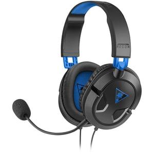 Casti Gaming TURTLE BEACH Recon 50P, multiplatforma, 3.5mm, negru-albastru