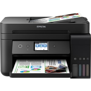 Multifunctional inkjet color EPSON EcoTank ITS L6190 CISS, A4, USB, Wi-Fi