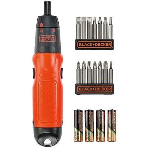 Surubelnita cu baterii BLACK & DECKER A7073, 4x AA, 6V