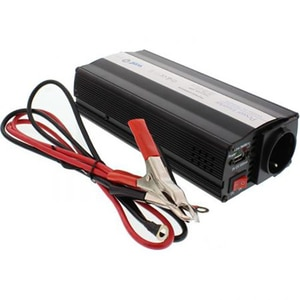 Invertor de tensiune cu USB WELL PSUP-INV/U-12V1000W-WL, 12V - 220V, 1000W