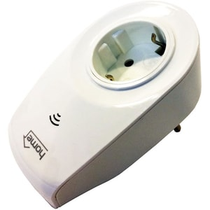 Priza smart HOME NVS 1 PRO, Wi-Fi, alb