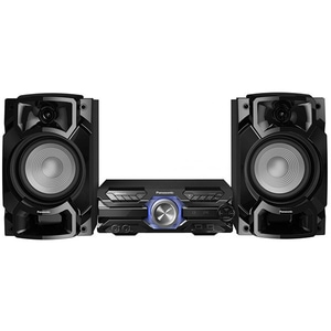 Minisistem audio PANASONIC SC-AKX520E-K, 650W, Bluetooth, USB, CD, Radio FM, Full Karaoke, negru