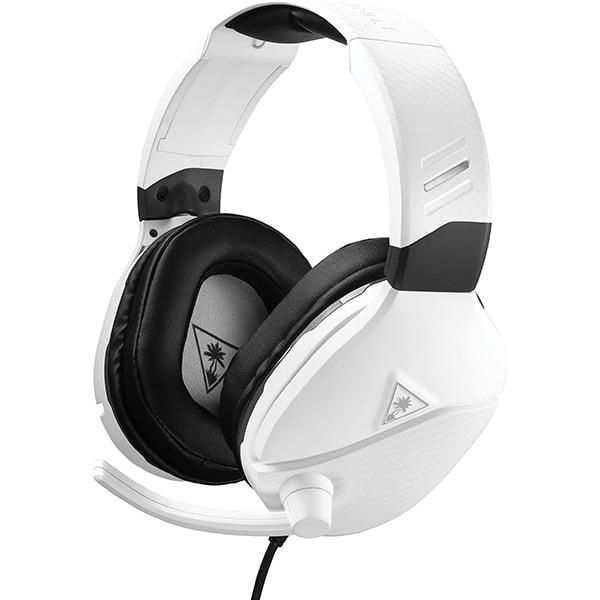 Casti Gaming TURTLE BEACH Recon 200, amplificare, multiplatforma, 3.5mm, alb-negru