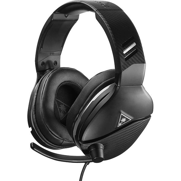 Casti Gaming TURTLE BEACH Recon 200, amplificare, multiplatforma, 3.5mm, negru