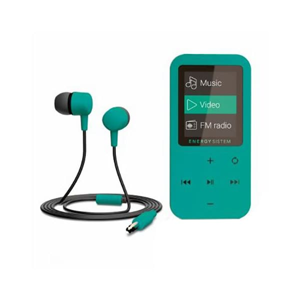 MP4 Player ENERGY SISTEM ENS426430, 8GB, Touch, FM, verde