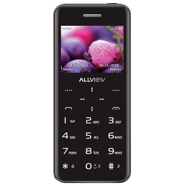 Telefon mobil ALLVIEW S8 Style, 4MB RAM, 2G, Dual SIM, Black