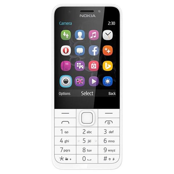 Telefon mobil NOKIA 230, 16MB RAM, 2G, Dual SIM, silver