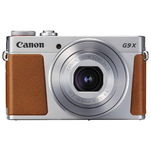 Aparat foto digital CANON Powershot G9 X Mark II, 20.9 MP, Wi-Fi, argintiu