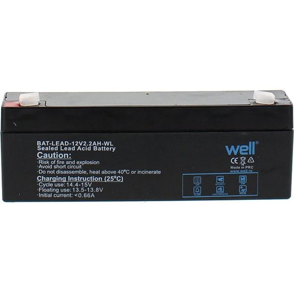 Acumulator plumb acid  WELL BAT-LEAD-12V2.2AH-WL, 12V, 2.2 Ah